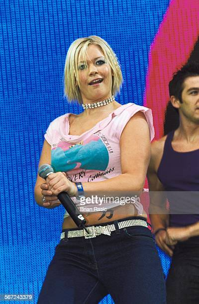 Capital Fm'S Party In The Park For The Princes TrustLondon8 July 2001 Suzanne Shaw Of Hear'Say