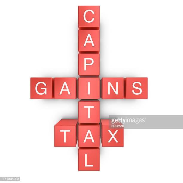 kapitalertragsteuer - kapitell stock-fotos und bilder