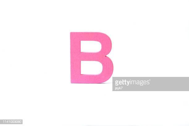 capital letter b - lettera b foto e immagini stock