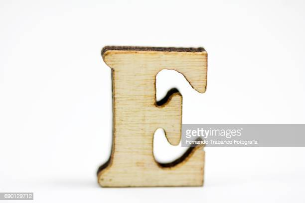 capital letter e - the_writer's_block stock pictures, royalty-free photos & images