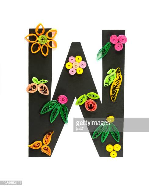 capital letter w - letra w - fotografias e filmes do acervo