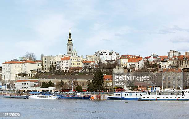 capital of belgrade - belgrade stock pictures, royalty-free photos & images