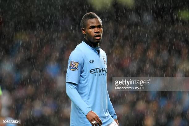 Capital One Cup Third Round Manchester City v Aston Villa Etihad Stadium Abdul Razak Manchester City