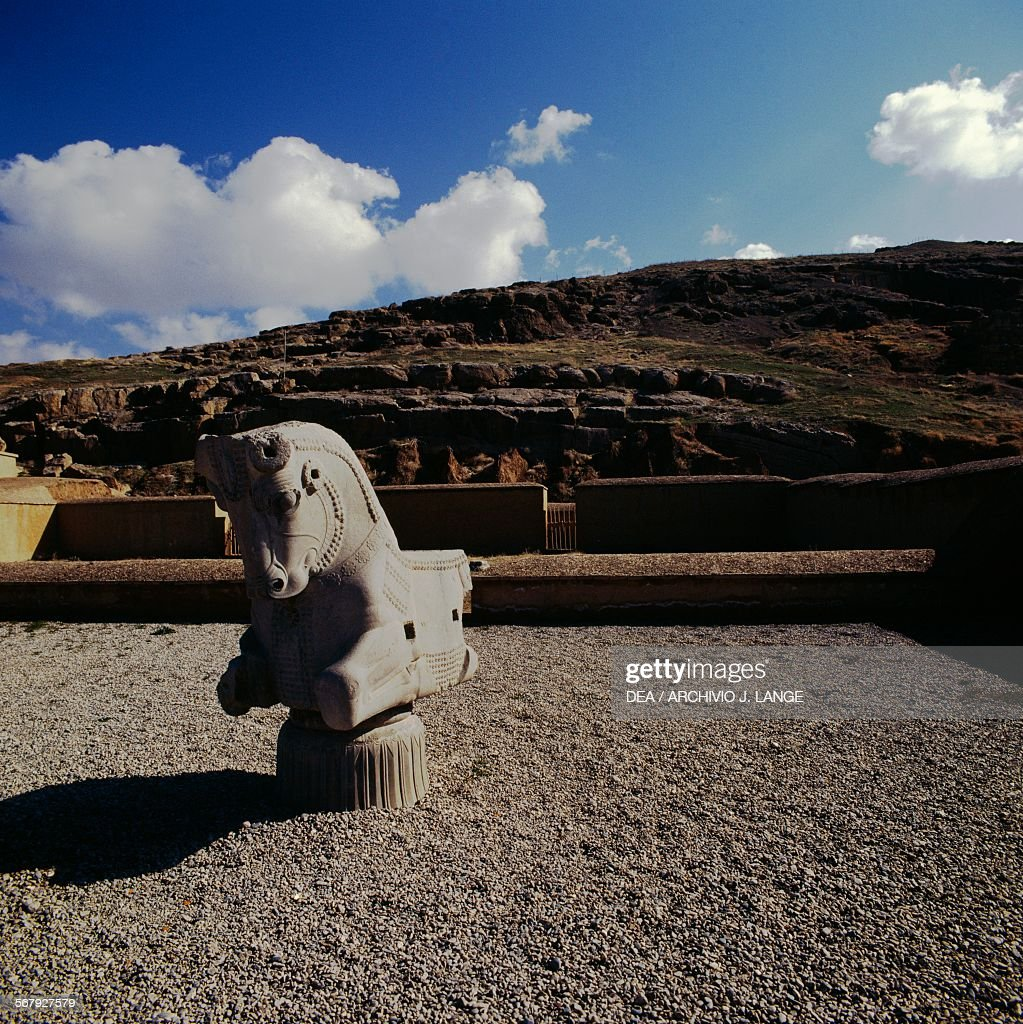 Capital With Horse Processional Way Persepolis Iran Achaemenid News Photo Getty Images