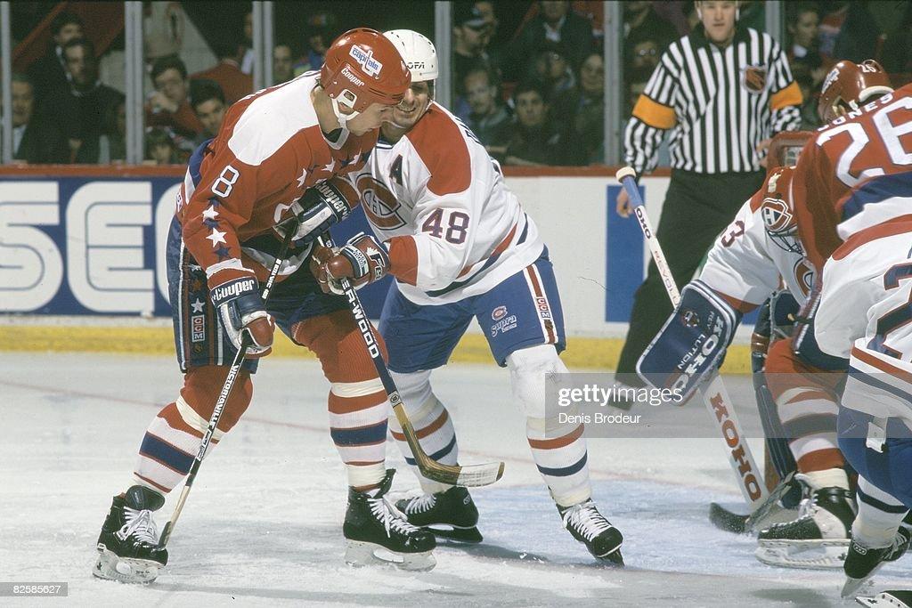 Washington Capitals v Montreal Canadiens 1994-95 : News Photo