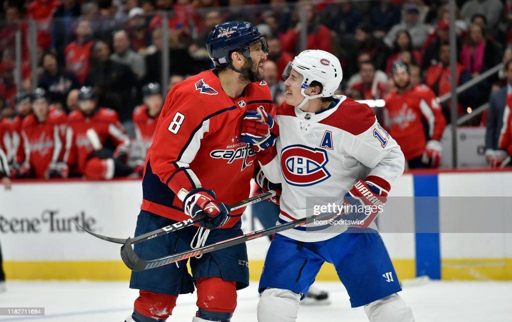 NHL: NOV 15 Canadiens at Capitals : News Photo
