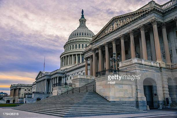 US Capitol Building and Senate Chamber