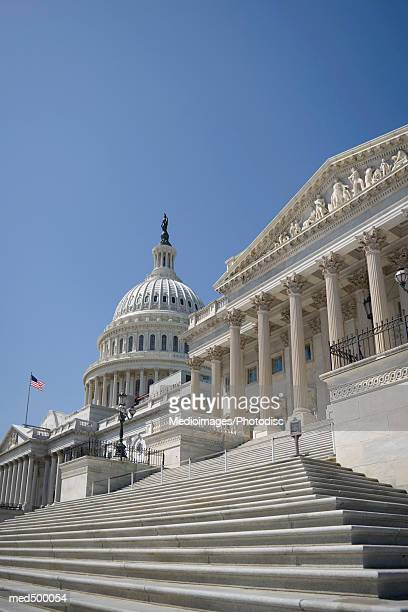 Capitol building and Supreme Court Building in Washington DC, USA