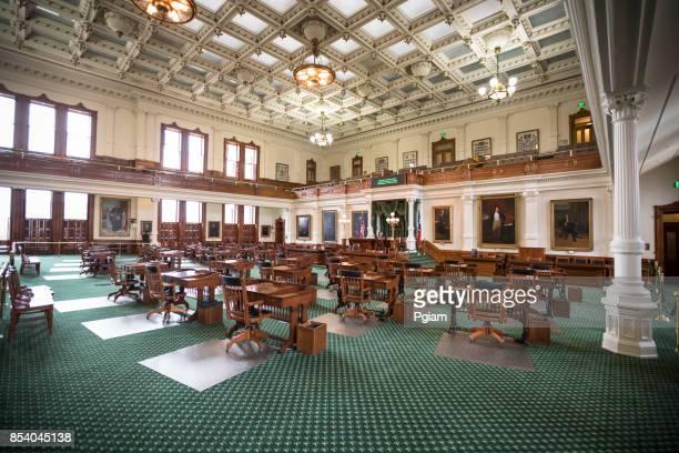 edifício do capitólio de austin, texas - senado governo - fotografias e filmes do acervo