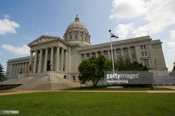 議事堂の Jefferson City ,Missouri ,USA