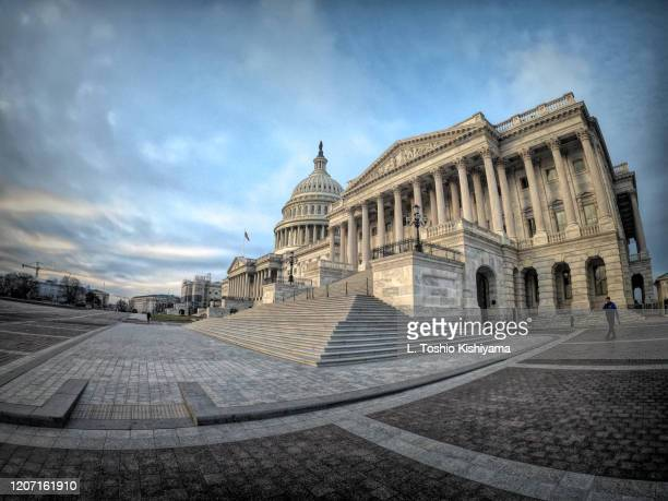 capitol building in washington, dc - congress stock pictures, royalty-free photos & images
