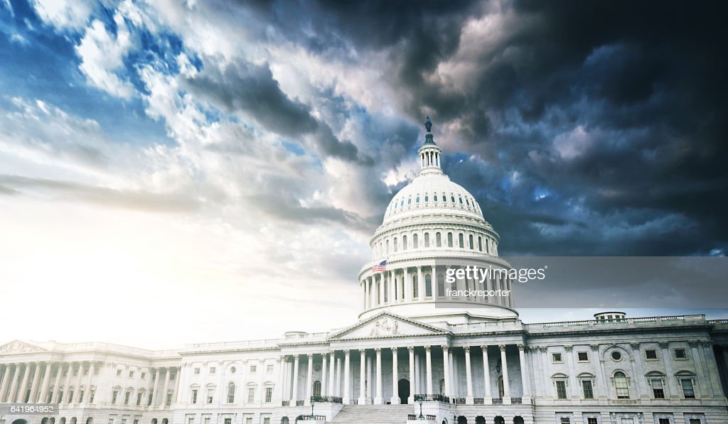 capitol building in washington dc : Stock Photo