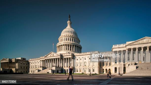 us capitol building in washington d.c, usa - congress stock pictures, royalty-free photos & images