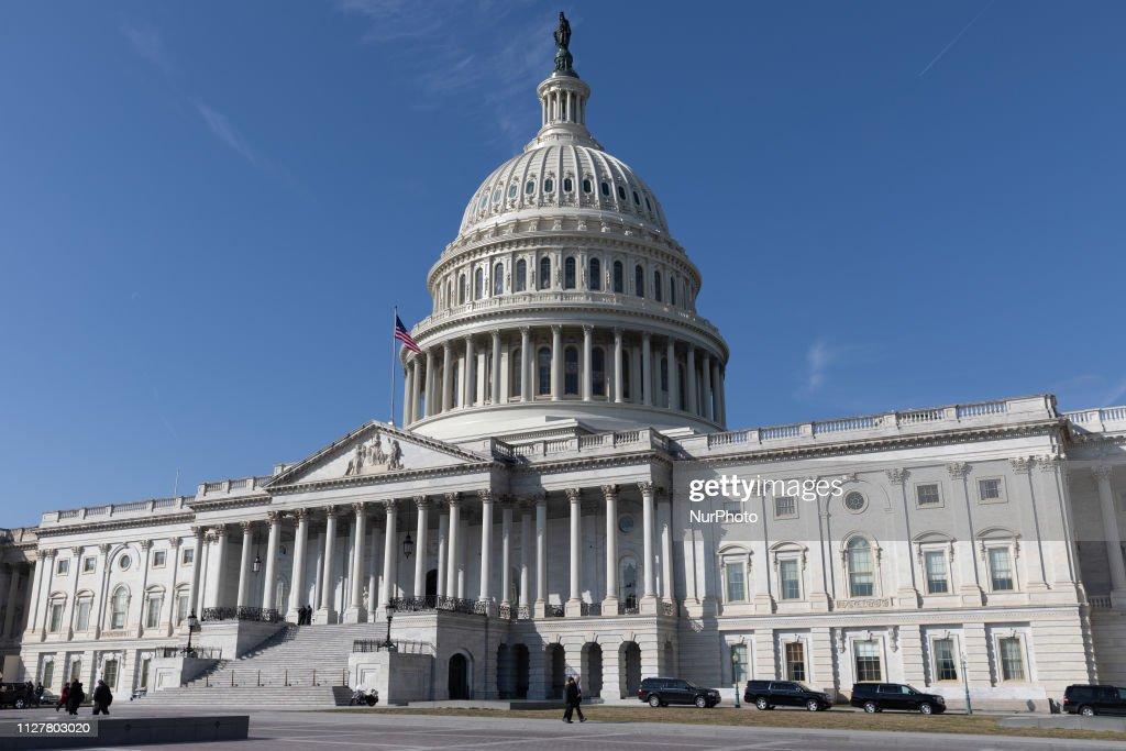 US Capitol Building : News Photo