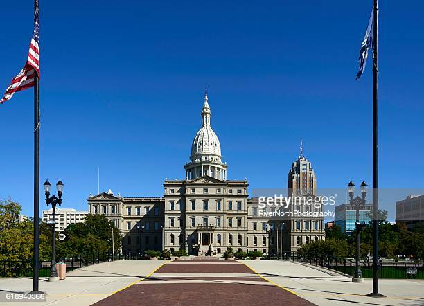 Capitol Building, Lansing, dans le Michigan