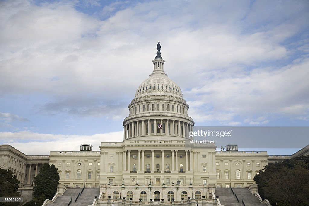 US Capitol Building, Senate and House  : Stock Photo