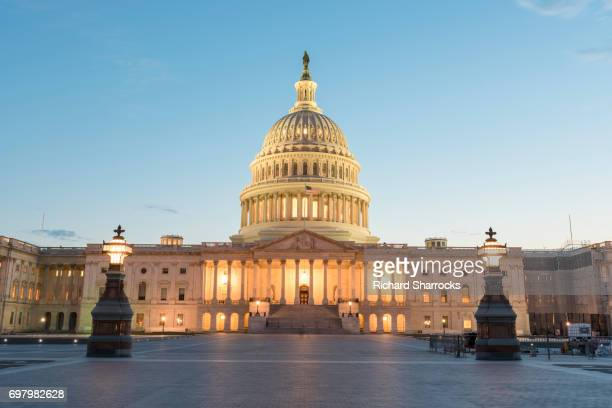 us capitol building, washington dc - congress stock pictures, royalty-free photos & images