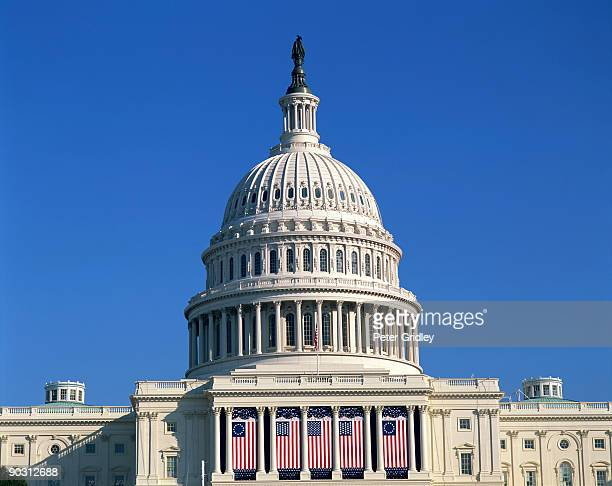 us capitol building, washington, dc - arch stock pictures, royalty-free photos & images