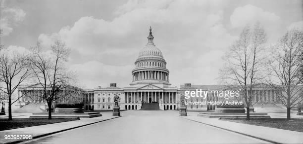 US Capitol Building Washington DC USA Detroit Publishing Company 1910