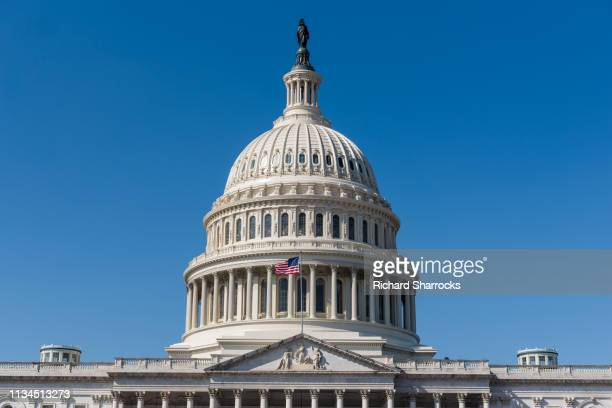 us capitol building, washingtondc, usa - hauptstadt stock-fotos und bilder