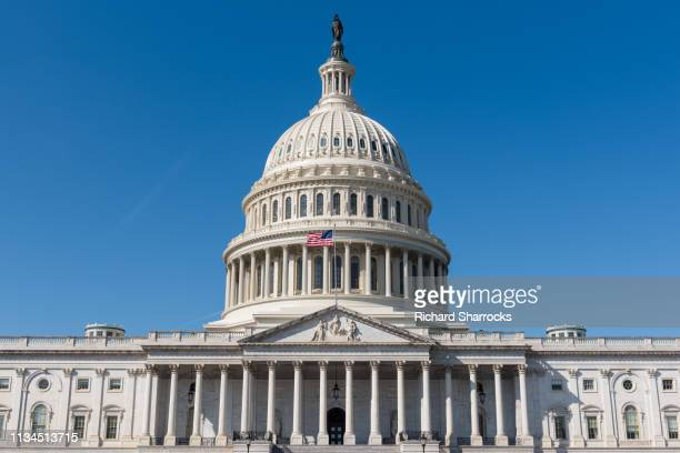 us capitol building, washingtondc, usa - capital cities stock pictures, royalty-free photos & images
