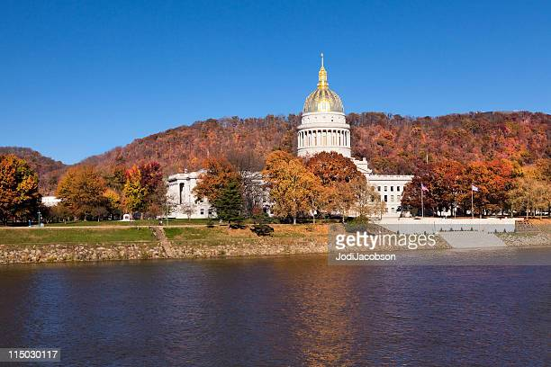 capitol building west virginia - charleston west virginia stock pictures, royalty-free photos & images