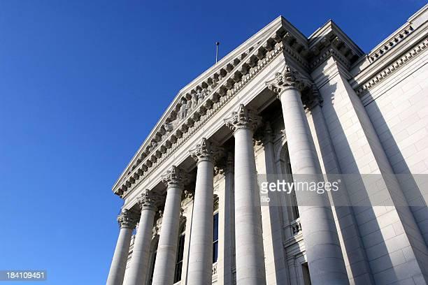 capitol säulen - kapitell stock-fotos und bilder