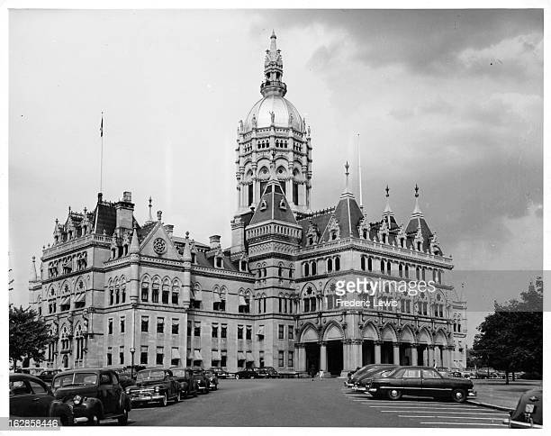 Capitol Dome In Hartford Connecticut 1955