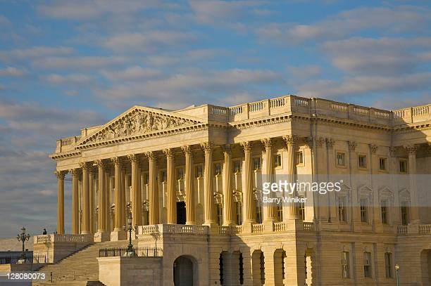 u.s. capitol, east facade, house of representatives, washington, d.c., u.s.a. - house of representatives stock pictures, royalty-free photos & images