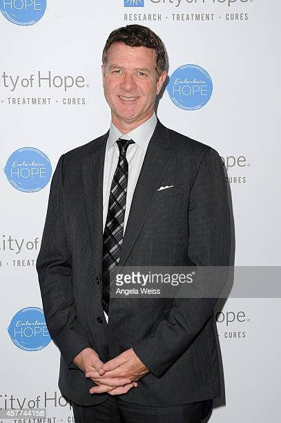 Capitol Music Group's Greg Thompson attends the City of Hope Spirit of Life Gala honoring Apple's Eddy Cue at the Pacific Design Center on October 23...