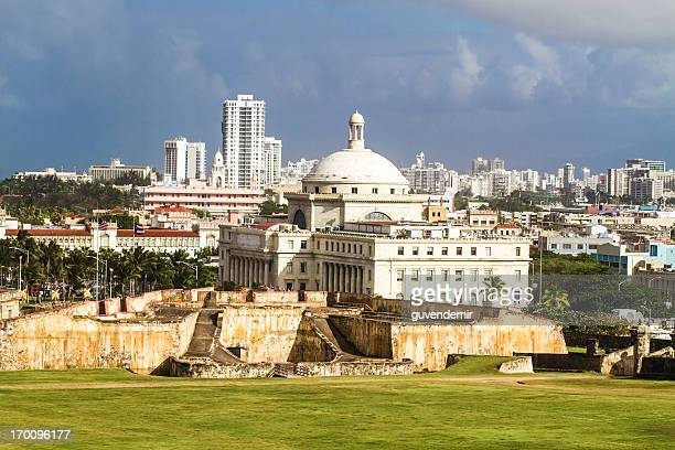 capitol of puerto rico - capital cities stock pictures, royalty-free photos & images