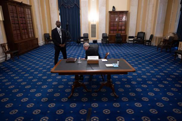 DC: Senate Hearing Examines January 6th Capitol Hill Attack