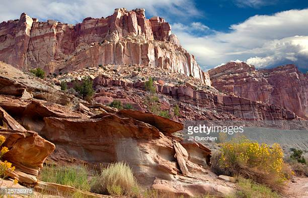 capitol reef national park - capitol reef national park stock pictures, royalty-free photos & images