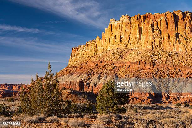 capitol reef national park, utah, america, usa - capitol reef national park stock pictures, royalty-free photos & images