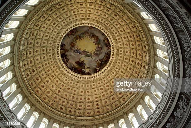us capitol rotunda, washington dc - united states capitol rotunda stock photos and pictures