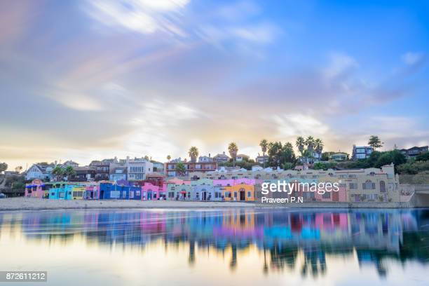 capitola village - california stock pictures, royalty-free photos & images