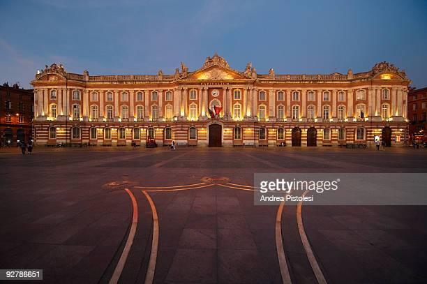 Capitole City Hall in Toulouse, France