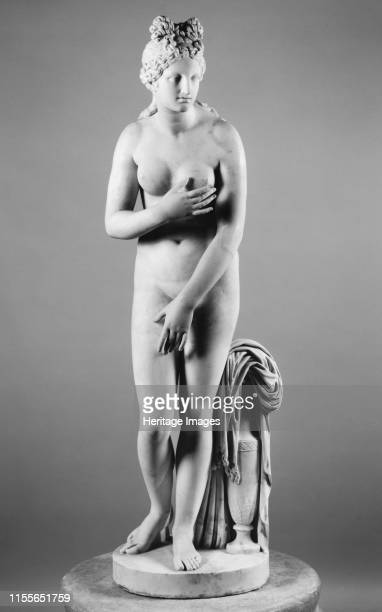 Capitoline Venus Mid 2nd cen AD Found in the Collection of Museo Archeologico Nazionale di Napoli Artist Art of Ancient Rome Classical sculpture