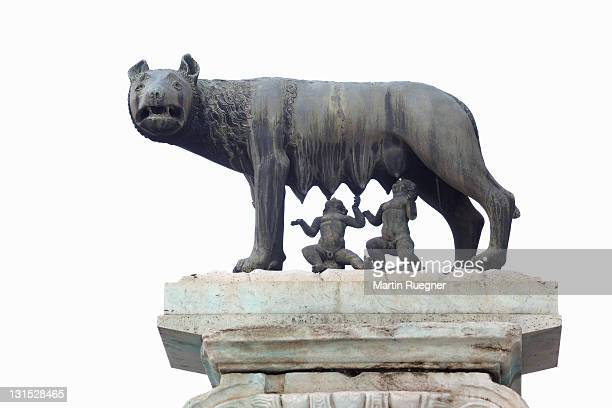 Capitoline Wolf Statue Romulus and Remus.