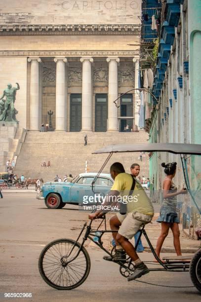 Capitolio and takibiker Havana