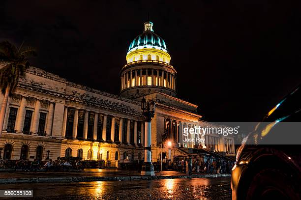 Capitolio de la Habana inside it´s located the America´s second tallest sculpture called La Republica also was famous by a diamond of 25 K that one...