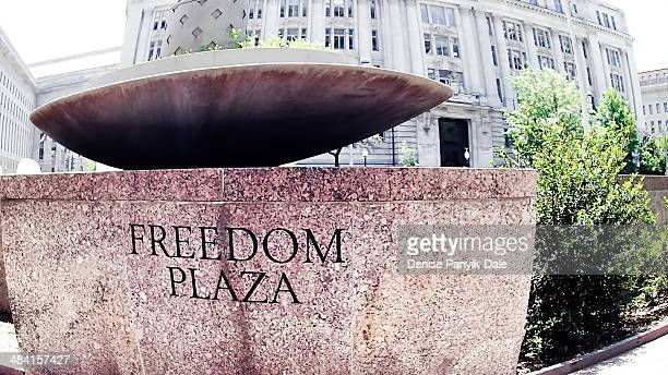 capitols - freedom plaza stock pictures, royalty-free photos & images