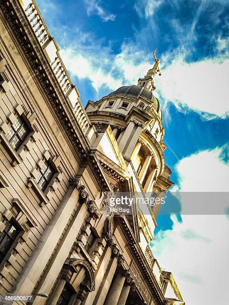 capitols - old bailey stock photos and pictures