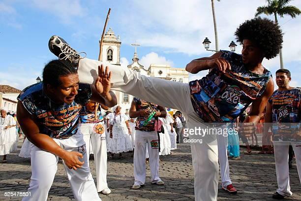 Capoeira band at Salvador carnival