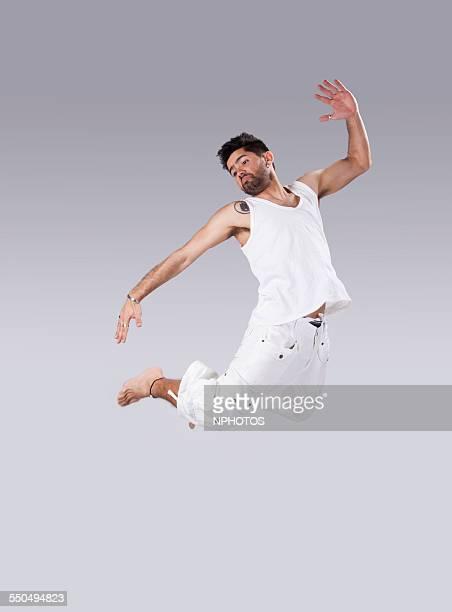 Capoeira dancer