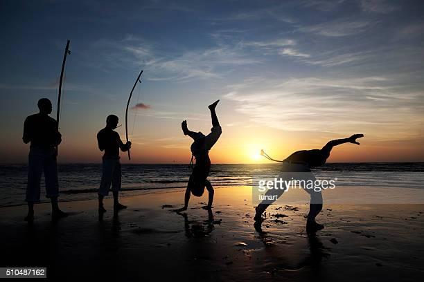 Capoeira in Jericoacoara, Brasilien