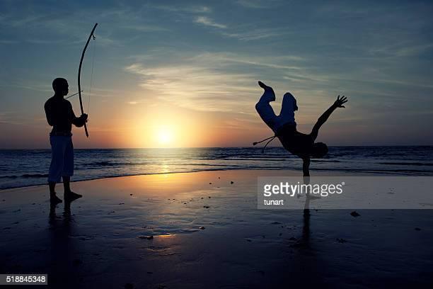 Capoeira em Jericoacoara, Brasil