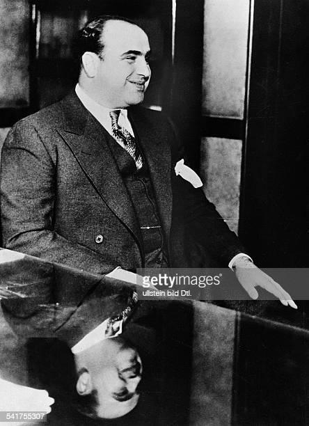 Capone Al *18991947Gangster USA Aufnahme 1931