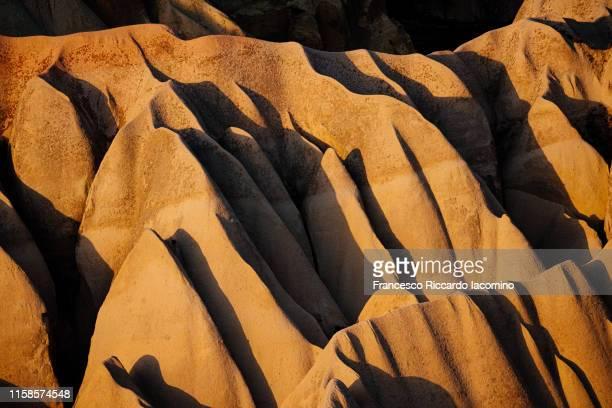 cappadocia, anatolia, turkey. rose valley at sunset - アナトリア ストックフォトと画像
