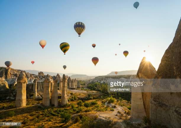cappadocia, central anatolia, turkey - cappadocia stock pictures, royalty-free photos & images